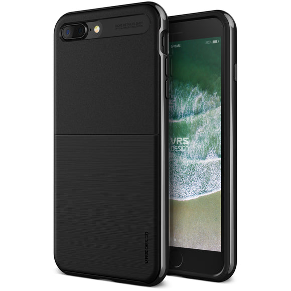 High Pro Shield iPhone 8 Plus/7 Plus Metal Blk - Unwired