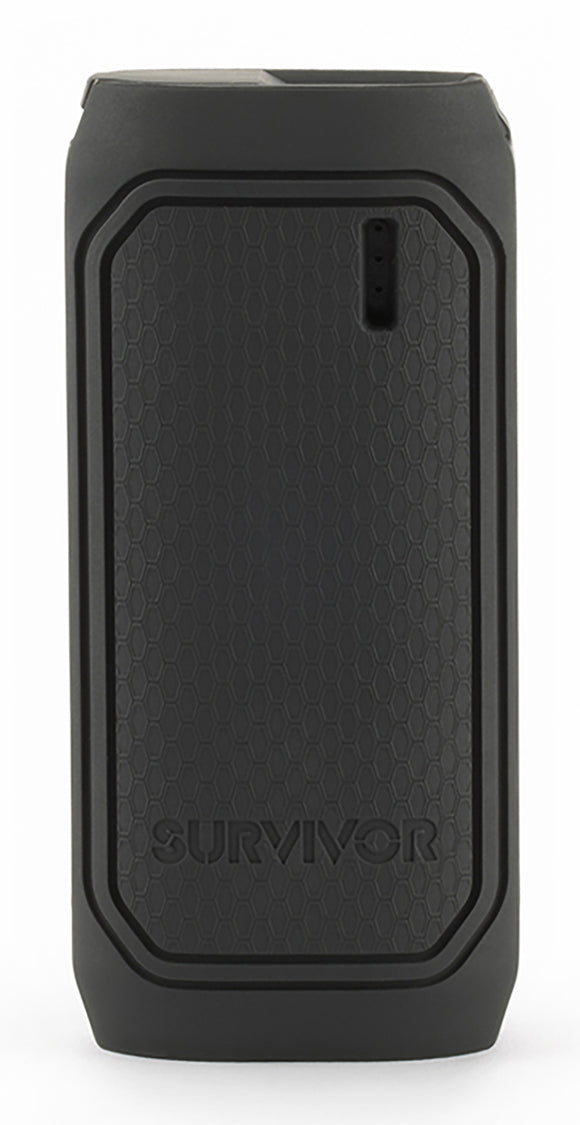 Survivor Portable powerbank 6000mAh Black - Unwired