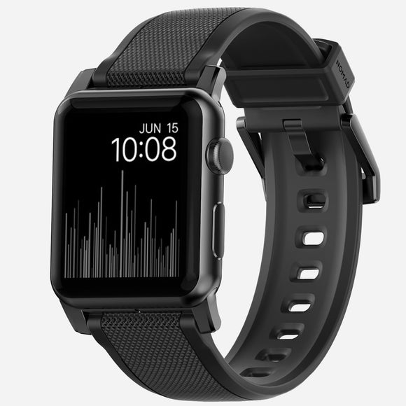 Strap Apple Watch 42mm Black - Unwired