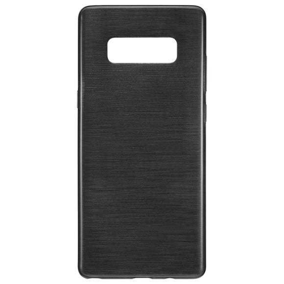 Brushed Gel Skin Galaxy Note8 Black - Unwired