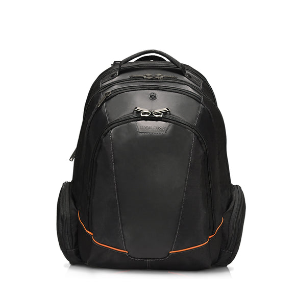 Flight Checkpoint Friendly Laptop Backpack 16in Black - Unwired Solutions Inc