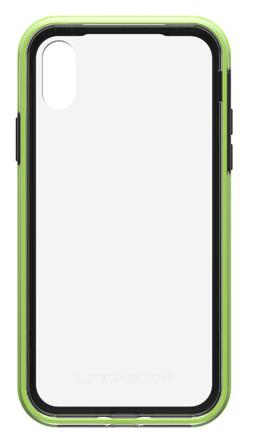 Slam iPhone X Night Flash (Clear/Lime/Black) - Unwired Solutions Inc