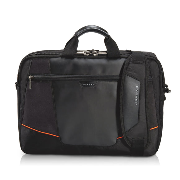 Flight Laptop Bag-TSA Friendly Briefcase to 16in Bk