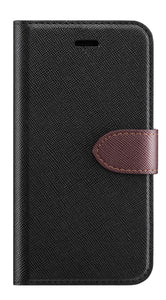 2 in 1 Folio K4 -2017 Black/Brown
