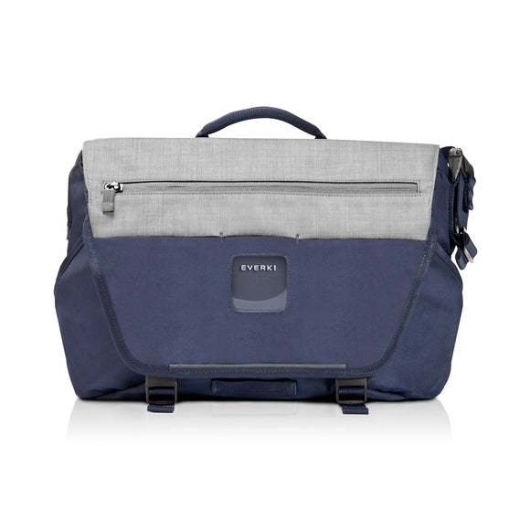 ContemPRO Laptop Bike Messenger 14.1in/Mac 15in Navy - Unwired Solutions Inc
