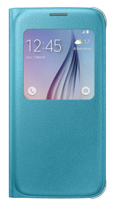 S View Cover (PU) GS6 Blue Green - Unwired