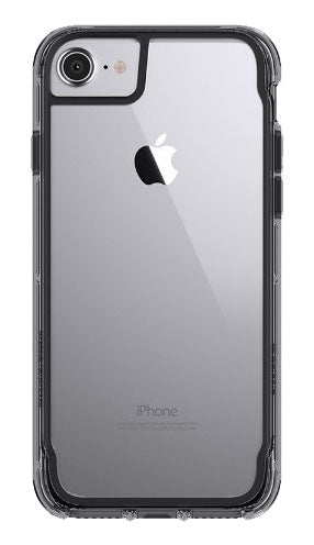Survivor Clear iPhone 8/7/6S/6 Black/Clear - Unwired