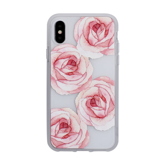 Mist iPhone X Rosie Roses Frosted - Unwired Solutions Inc
