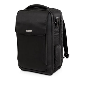 "SecureTrek Lockable Laptop Overnight Backpack 17"" Blk - Unwired"