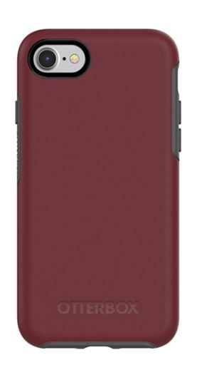 Symmetry iPhone 8/7 Fin Port (Burgundy/Gray) - Unwired
