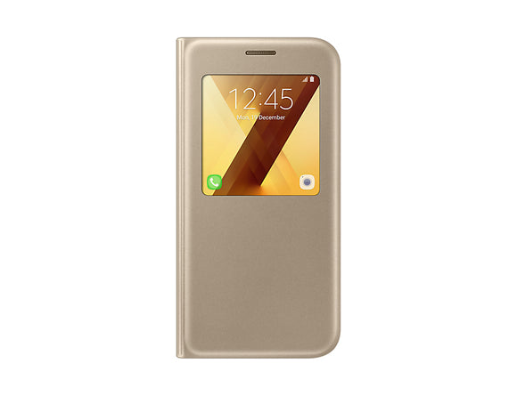 S view cover Galaxy A5 -2017 Gold - Unwired Solutions Inc