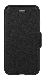 Strada Folio iPhone 8/7 Onyx (Black) - Unwired Solutions Inc