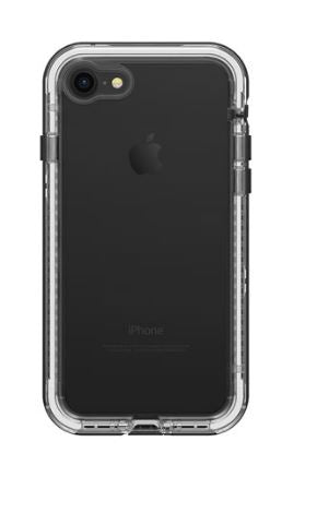 Next iPhone 8/7 Black Crystal (Clear/Black) - Unwired Solutions Inc
