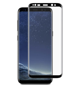 3D Curved Glass Case Friendly Galaxy Note8 Black