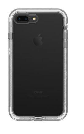 Next iPhone 8 Plus/7 Plus Beach Pebble (Clear/Gray) - Unwired Solutions Inc