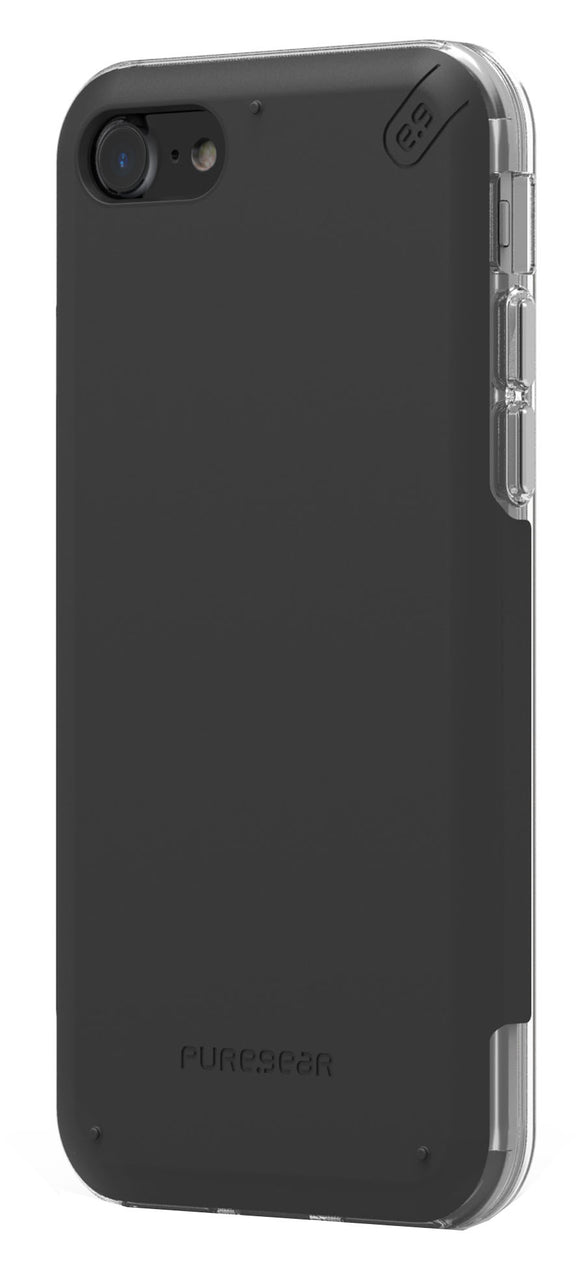 Dualtek Pro iPhone 8/7 Black/Clear - Unwired Solutions Inc