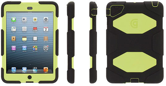 Survivor iPad Mini 1/2/3 Black Green - Unwired Solutions Inc