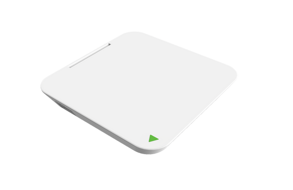 Power Xcube Qi Wireless Charger White - Unwired