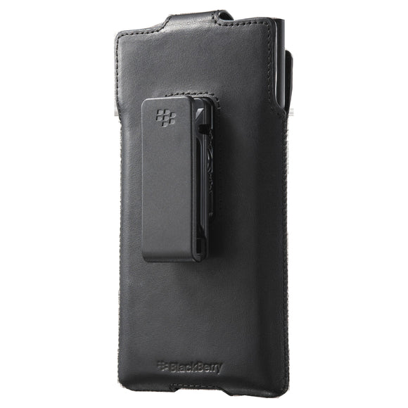 Leather Holster Priv Black