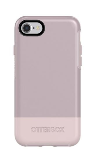 Symmetry iPhone 8/7 Skinny Dip (White/Pale Mauve) - Unwired Solutions Inc