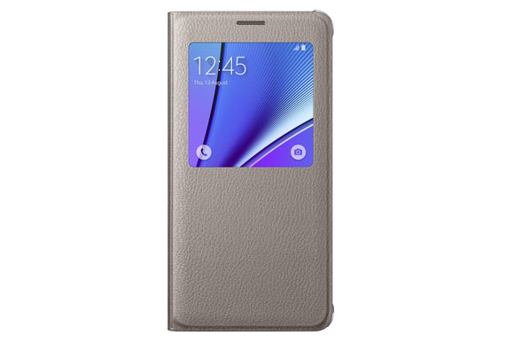 S View Cover Note 5 Gold - Unwired
