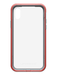 Slam iPhone X Lava Chaser (Clear/Red/Gray) - Unwired