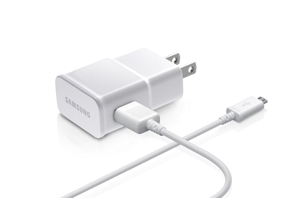 Wall Charger Micro USB 2A White - Unwired Solutions Inc