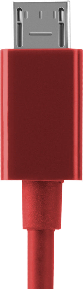 Charge/Sync Cable Micro USB 4ft Red - Unwired