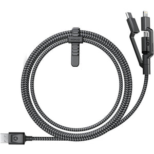Rugged Universal Cable Micro USB/USB Type-C/Lightning - Unwired