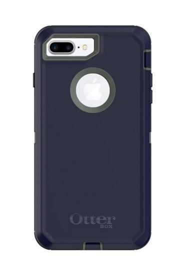 Defender iPhone 8 Plus/7 Plus Stormy Peaks(Green/Bl) - Unwired