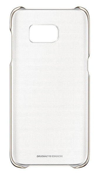 Clear Cover GS7 Edge Gold - Unwired Solutions Inc