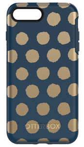 Symmetry iPhone 7 Plus Firefly (Dark Blue/Gold) - Unwired