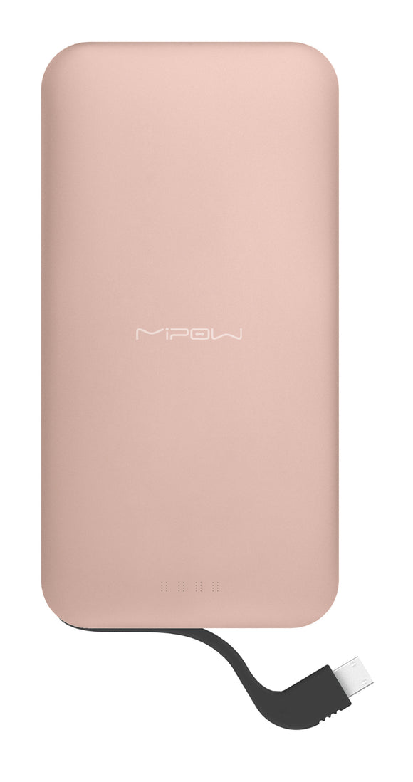 Power Cube 5000 mAh Micro USB Rose Gold - Unwired Solutions Inc