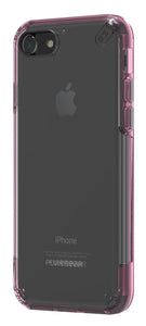 Slim Shell Pro iPhone 8/7 Clear/Pink - Unwired