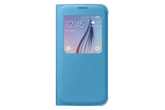 S View Cover (Fabric) GS6 Blue Green - Unwired Solutions Inc