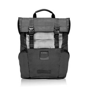 ContemPRO Roll Top Laptop Backpack up to 15.6in Black - Unwired