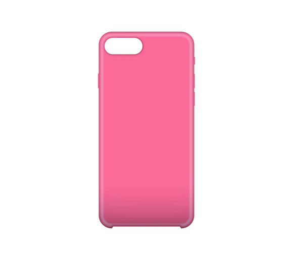 Solid Gel Skin iPhone 6/6s Plus Pink - Unwired