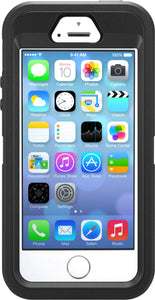 Defender iPhone 5/5S/SE Black - Unwired