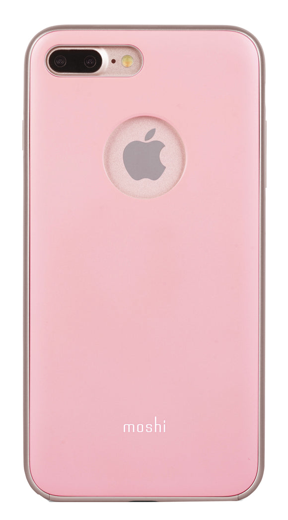 iGlaze iPhone 8 Plus/7 Plus Pink - Unwired Solutions Inc