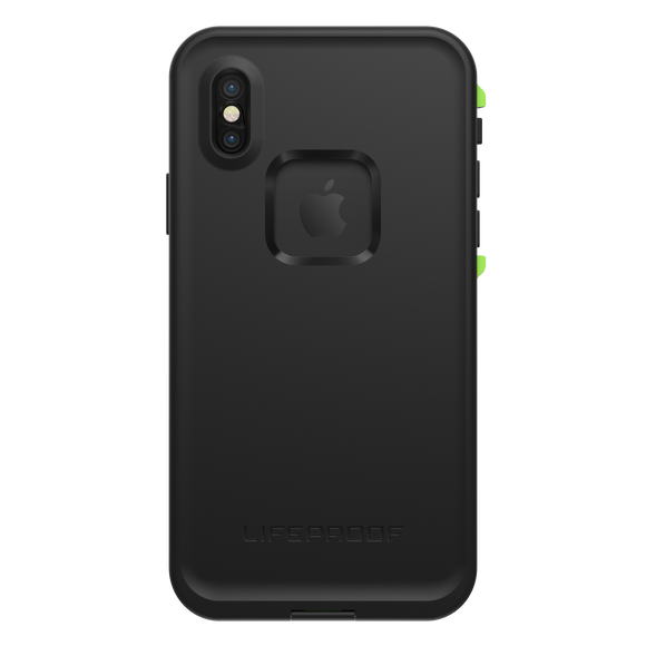 Fre iPhone X Night Lite (Black/Lime) - Unwired Solutions Inc