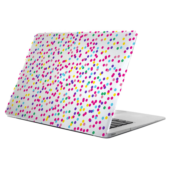 Clear Deflector MacBook 12'' Confetti Dots - Unwired Solutions Inc