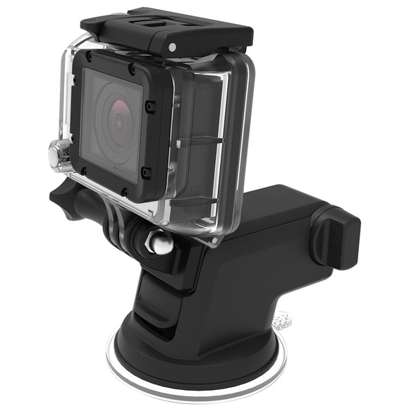 Easy One Touch GoPro Cradle Silver/Black