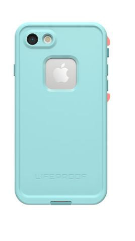 Fre iPhone 8/7 Wipeout (Coral/Blue) - Unwired