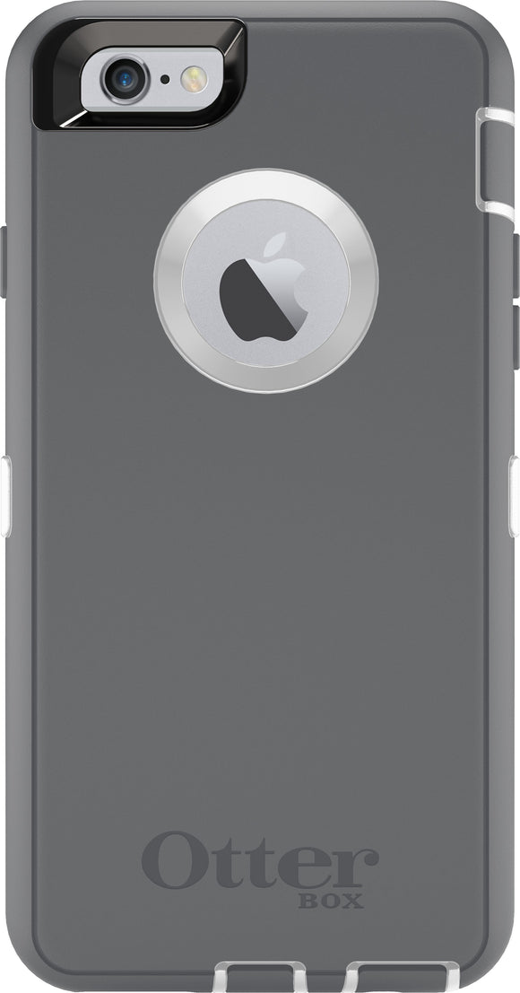 Defender iPhone 6/6S White/Grey - Unwired