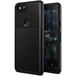 High Pro Shield Google Pixel 2 Metal Black - Unwired Solutions Inc