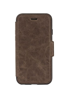 Strada Folio iPhone 8/7 Espresso (Brown) - Unwired Solutions Inc