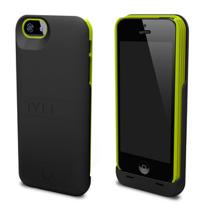 Energi Power Case iPhone 5/5S Black/Green - Unwired Solutions Inc