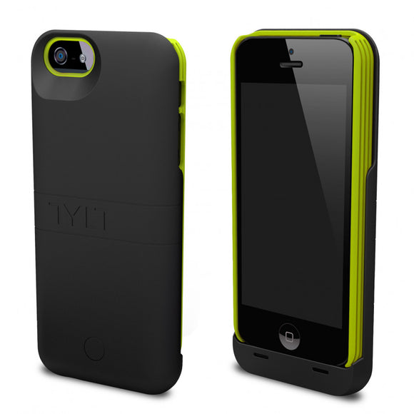 Energi Power Case iPhone 5/5S Black/Green - Unwired