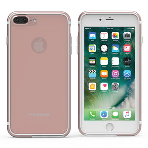 GlassBak 360 iPhone 8+/7+/6S+/6+ Rose - Unwired Solutions Inc