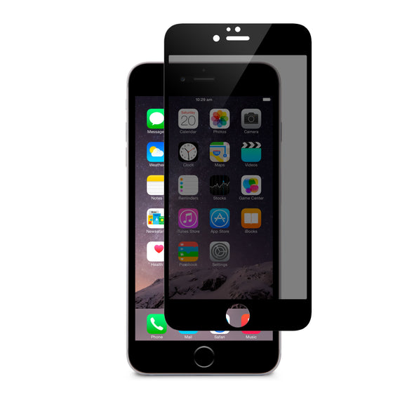 iVisor Privacy Glass iPhone 6/6S Plus Black - Unwired Solutions Inc